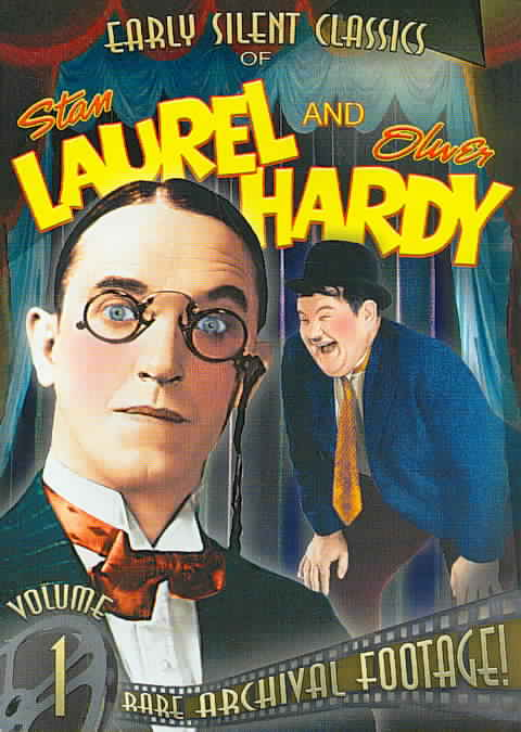 EARLY SILENT CLASSICS VOL 1-4 BY LAUREL,STAN (DVD)